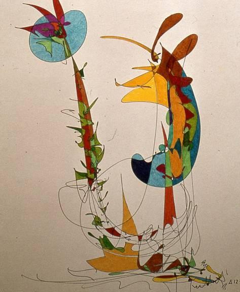 faune et flore aux feutres (7)