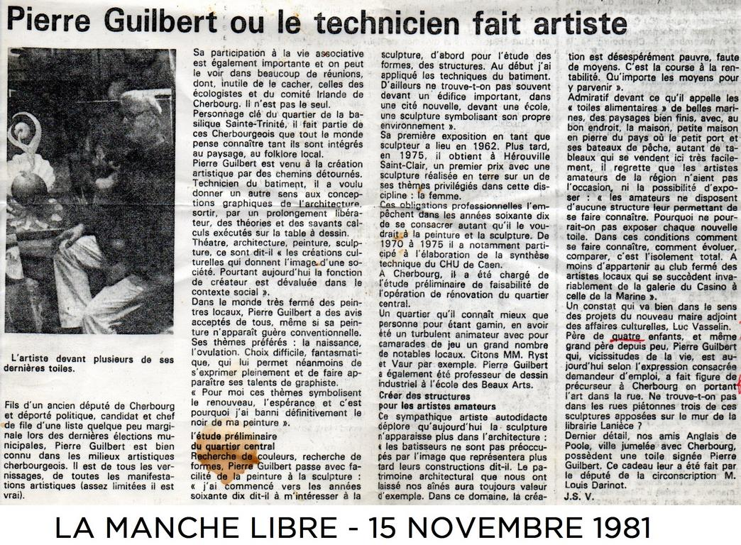 Article La Manche Libre